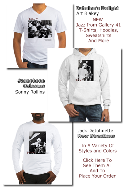 Purchase Unique Jazz from Gallery 41 Apparel & Merchandise